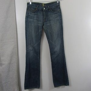 7 For All Man Kind Woman's Bootcut Jeans Size 28